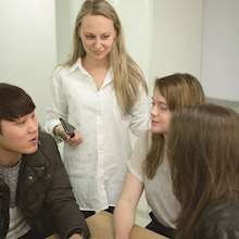 Lexis Korea - students studying together