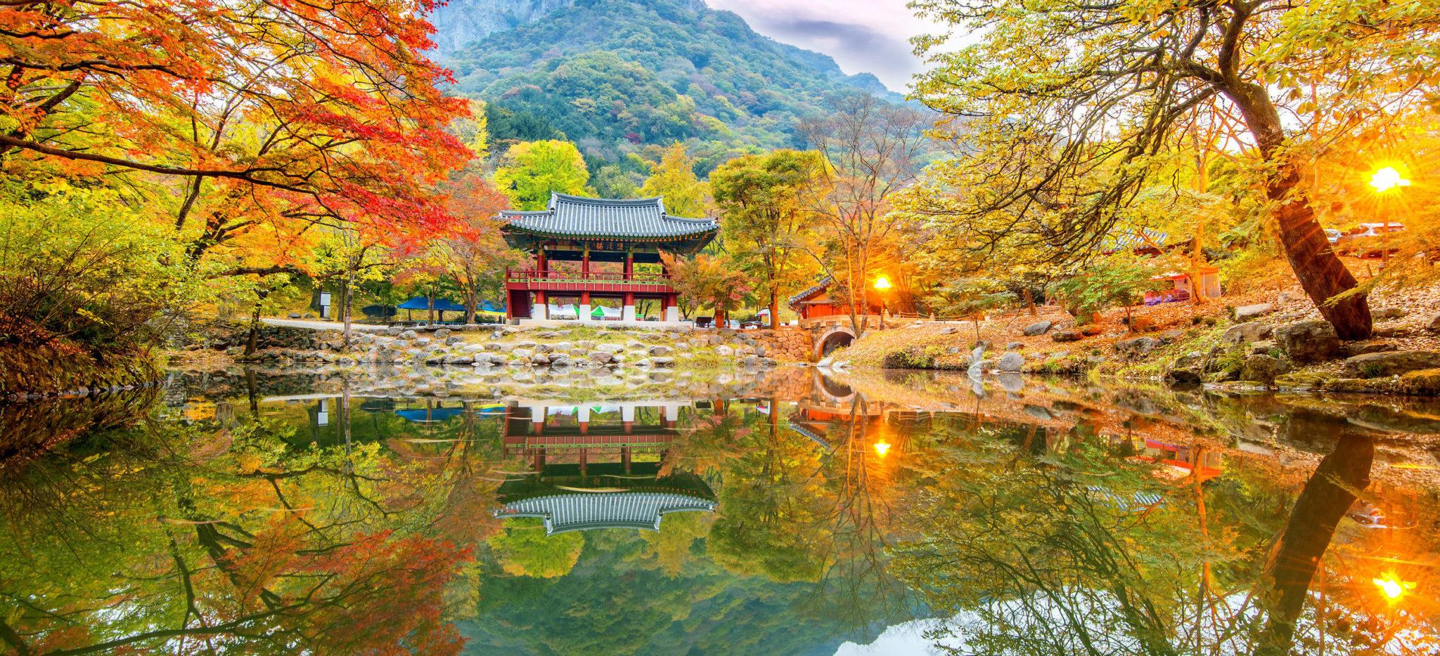 Autunno in Corea
