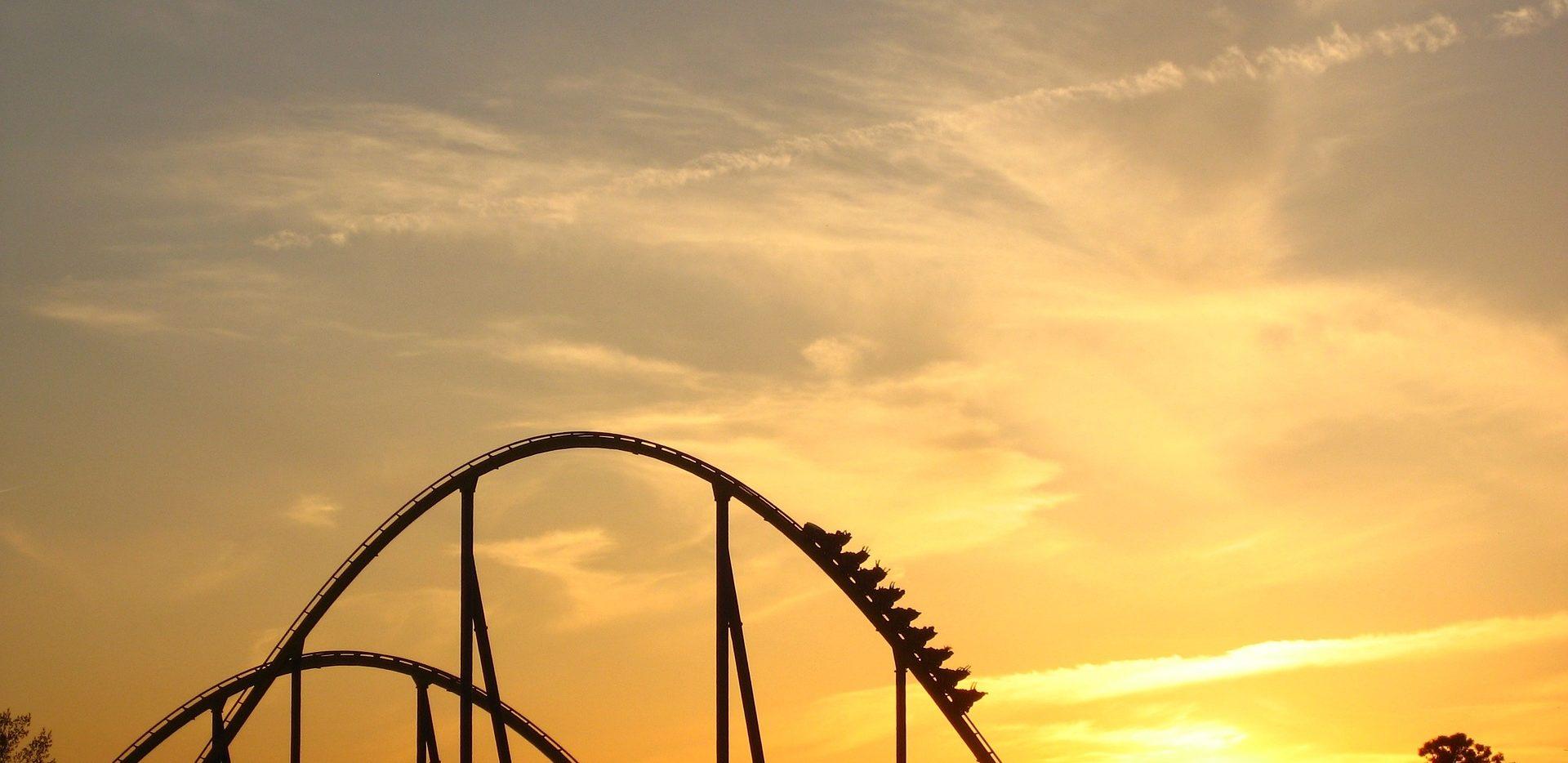 roller-coaster-sunset