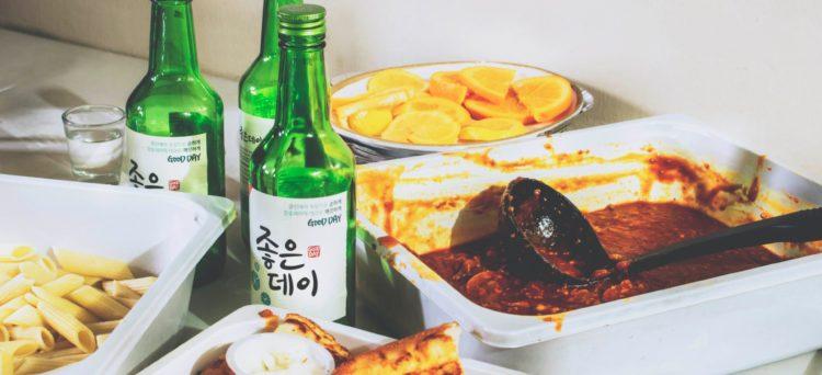 Bere alcol in Corea