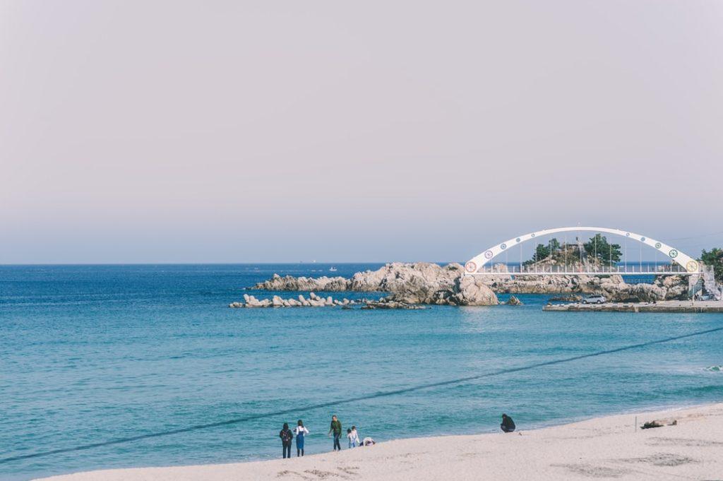 Spiagge della Corea