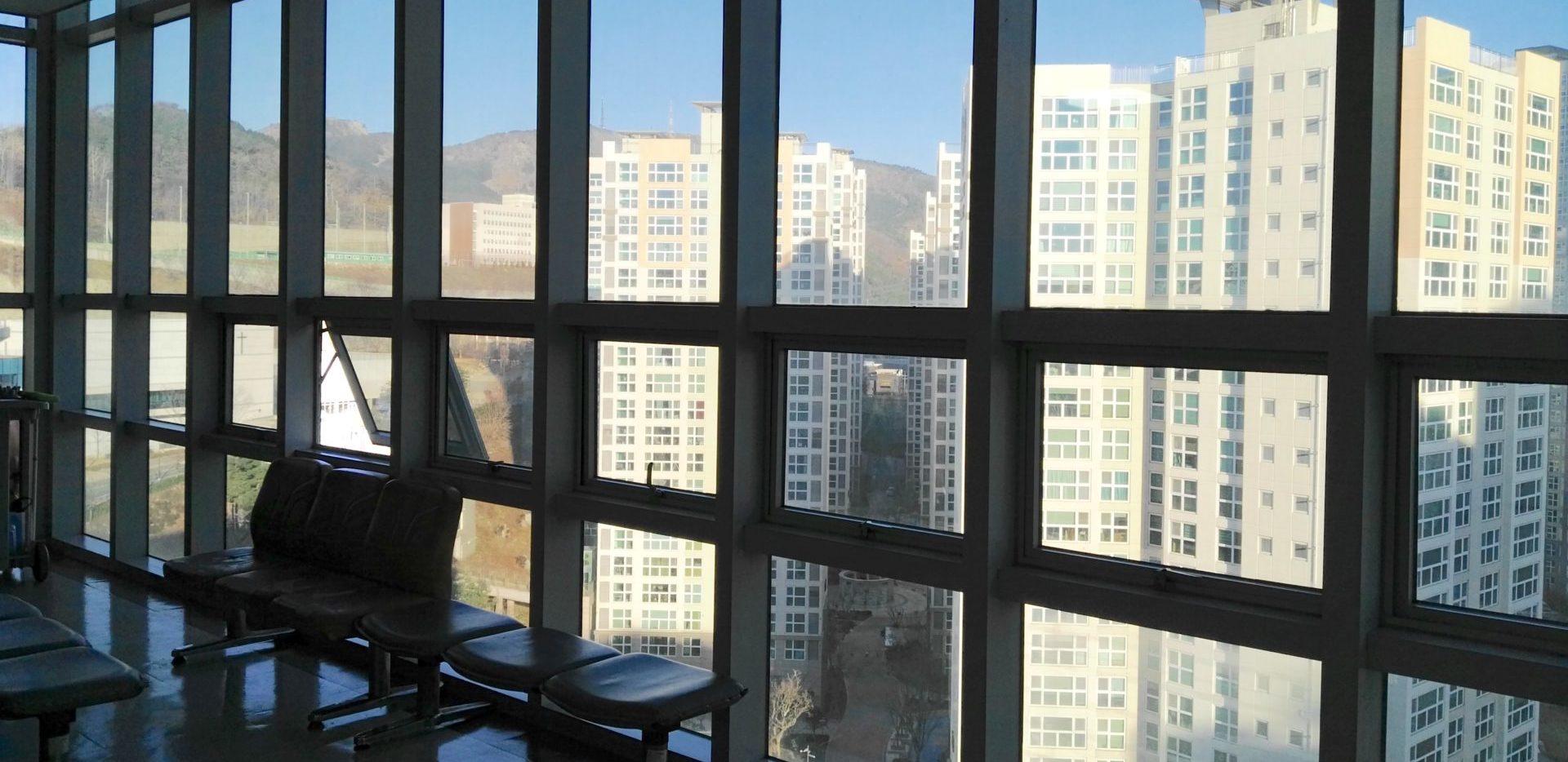 Alloggiare in un dormitorio dell'università in Corea