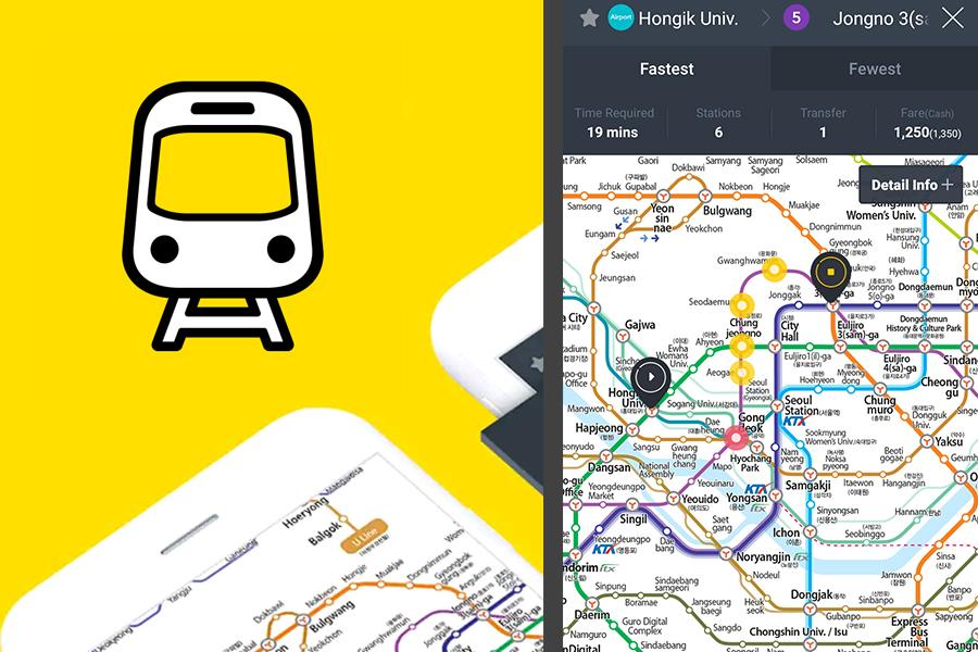 korean subway app