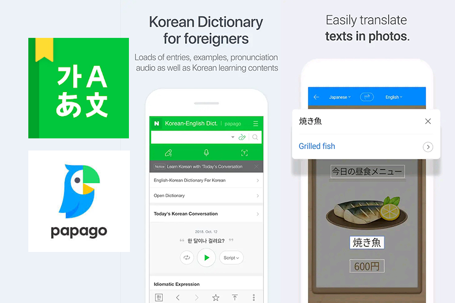 korean translation apps
