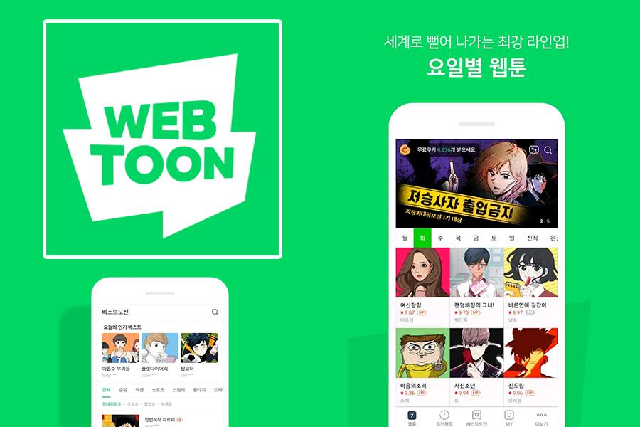 korean webtoon app