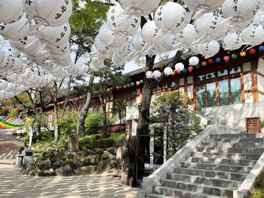 Templi di Seoul - Gilsangsa