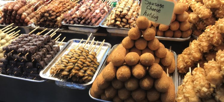 Street food coreano