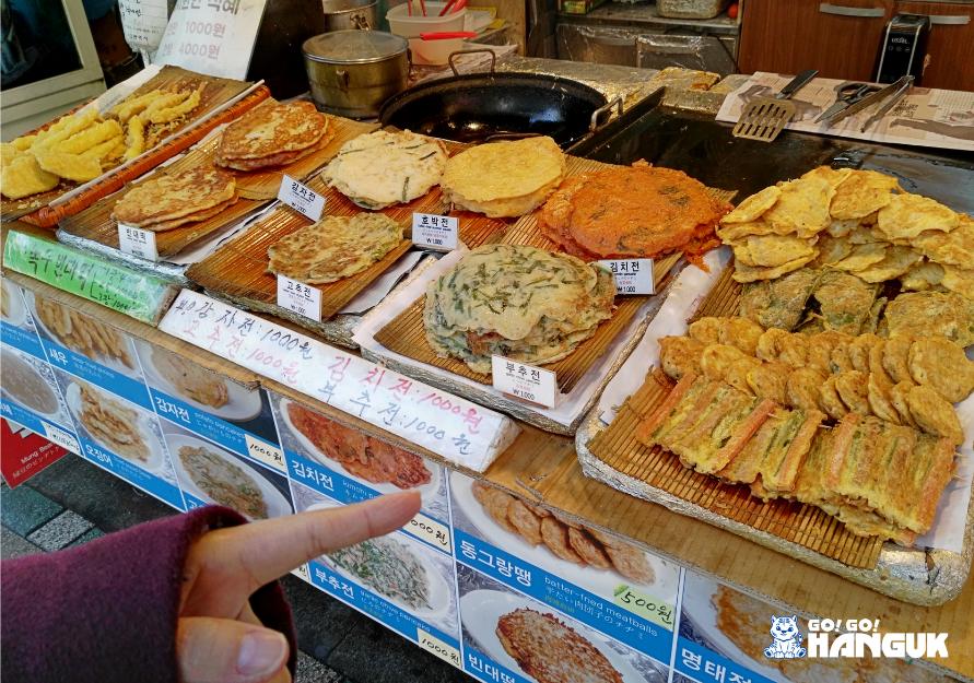 Street food coreano frittelle