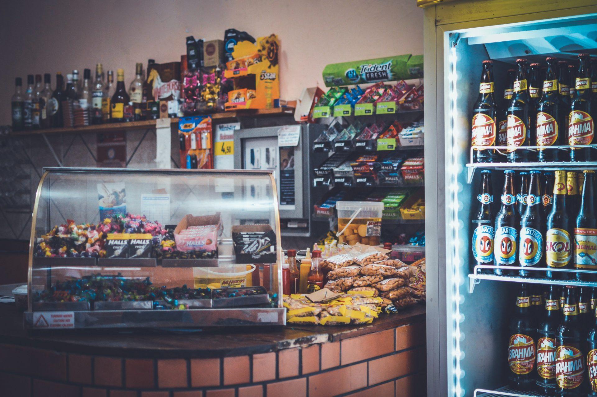 Convenience store in Corea