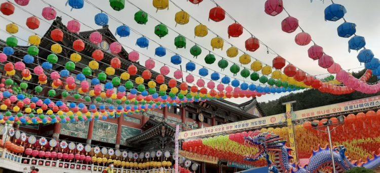 Decorazioni per il compleanno di Buddha
