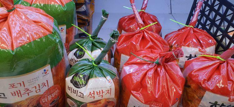 Kimchi in Corea