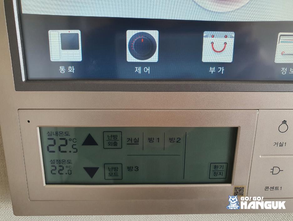 Ondol il riscaldamento in Corea