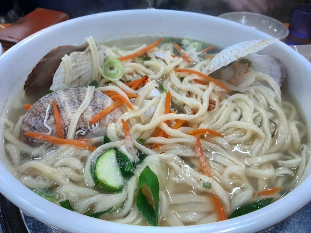 Noodles coreani: la haemul kalguksu