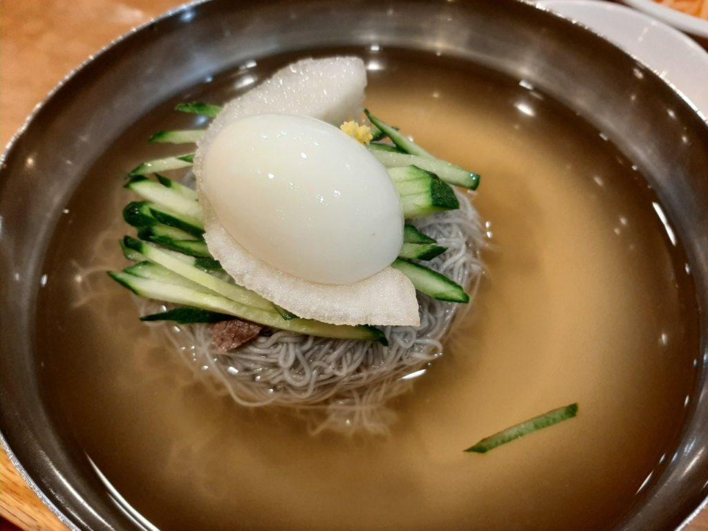 Noodles coreani: i mul-naengmyeon
