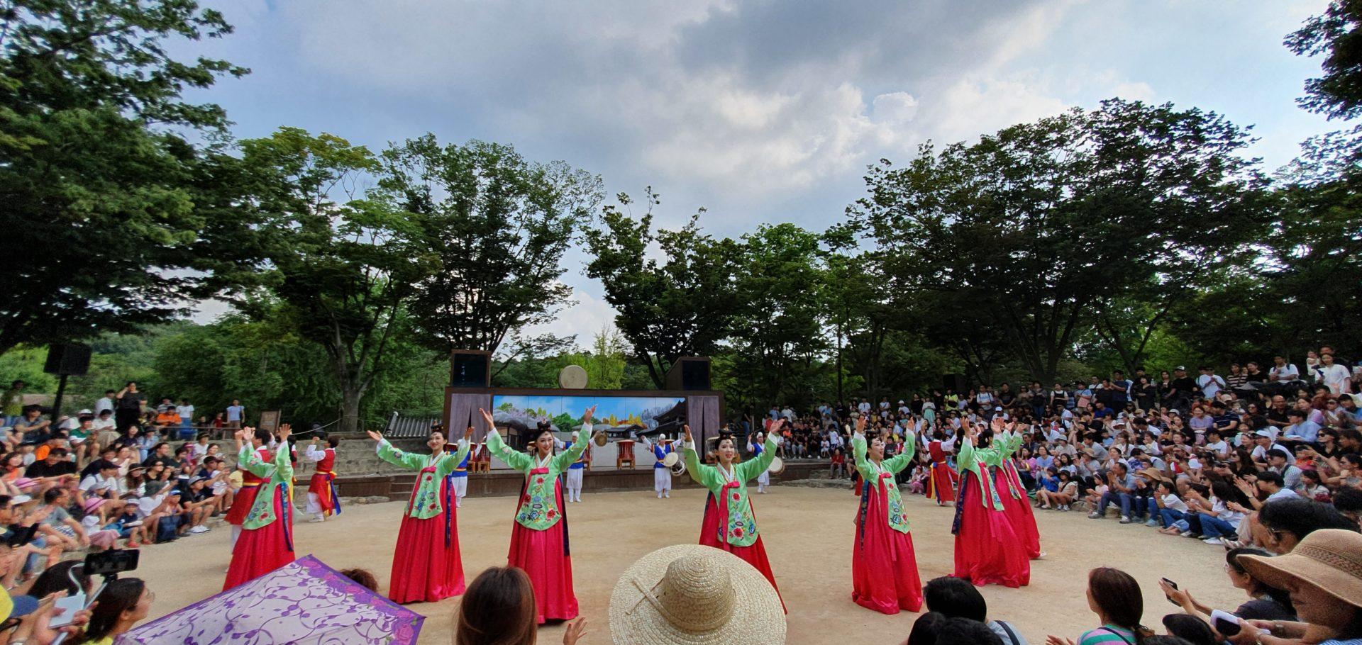 danze tradizionali coreane