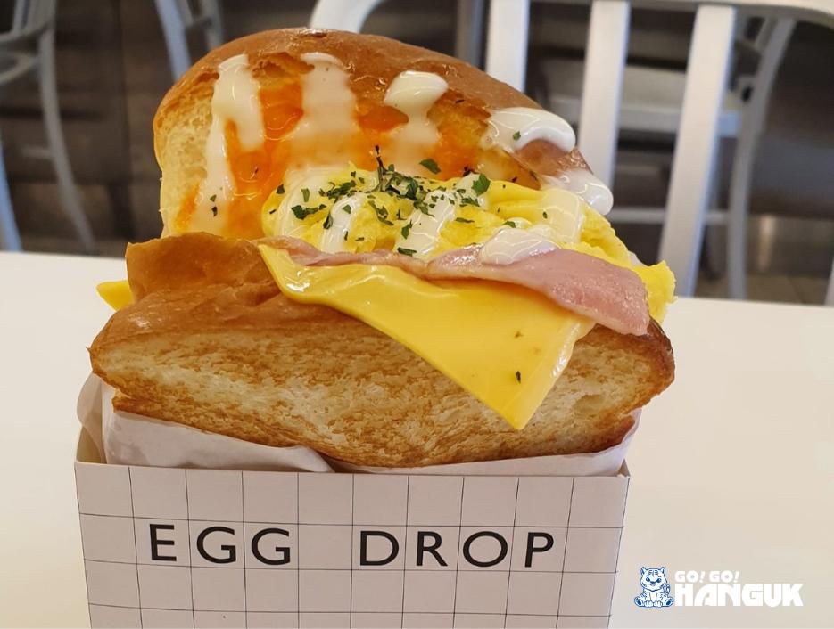 Egg drop-colazione coreana