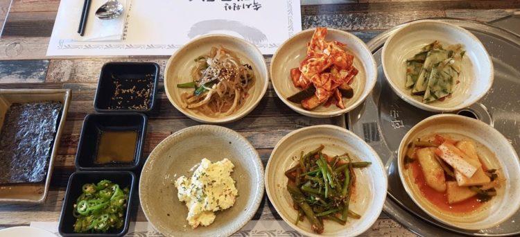 contorni coreani banchan