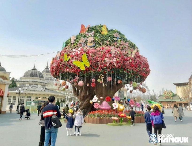 Festa dei bambini in Corea Everland