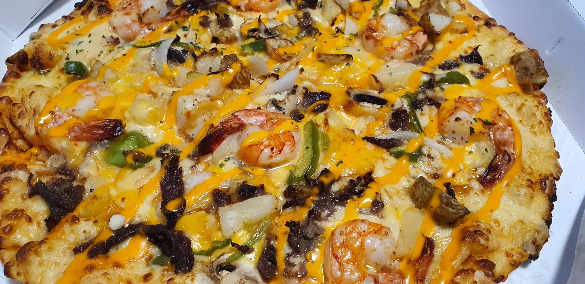 Pizza coreana