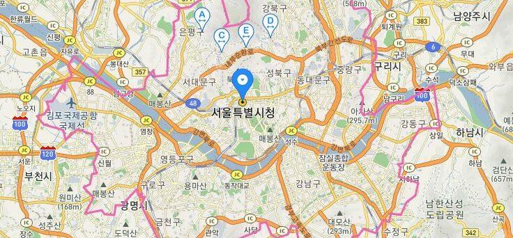 Indirizzo coreano