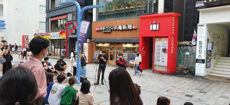 Cose da fare a Hongdae: artisti di strada